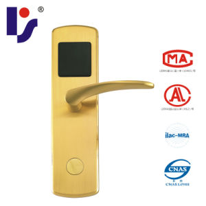 RF/Mifare 1 Card Smart Hotel Lock (RX-418E-J-Bronze)
