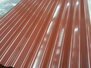 0.14-0.8mm Color Coated Galvanized Corrugated Steel Sheet PPGI pictures & photos