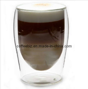 Double Wall Cappuccino Glass Cup (DWG-C08)