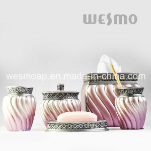 Middle East Style Polyresin Bathroom Accessories Set pictures & photos