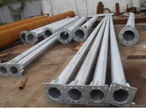 Export Hot DIP Galvanized Single Steel Tower pictures & photos