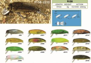 37mm Sinking Beetle a Top Factory′s Cheap Price --- High Quality Made Custom Hard Plastic Fishing Crankbait - Wobbler - Minnow- Popper Fishing Lure pictures & photos