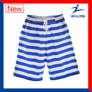Healong Sublimated Mens Polyester Beach Shorts pictures & photos