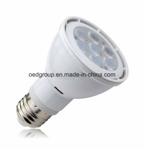 E26/E27 7W PAR20 LED Bulb Lights with Aluminum Radiator AC100-240V CRI Ra>80 and 3030SMD pictures & photos