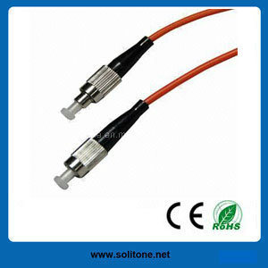FC Multimode Duplex Fiber Optic Patch Cord pictures & photos
