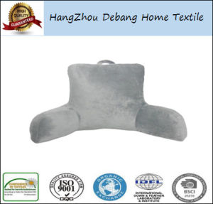 Super Soft Plush Back Reading Wedge Bed Pillow pictures & photos