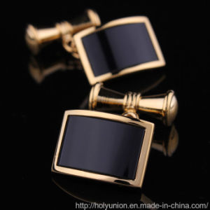 VAGULA Gold Noble Uniform Cuff-Links Aristocrat French Shirts Cufflinks pictures & photos