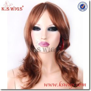 High Quality Synthetic Fashion Women′s Wig pictures & photos