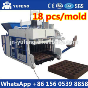Big Type Egg Laying Concrete Block Machine, Dmyf-18A Mobile Hollow Block Making Machine