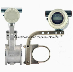 Divided Type Digital Vortex Flow Meter for Flow Control pictures & photos