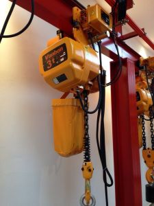 3ton Electric Trolley Type Electric Chain Hoist (WBH-03001SE) pictures & photos