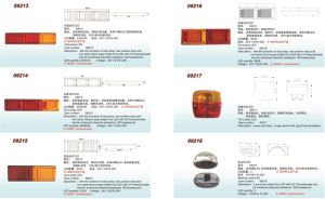 Best Quality Trailer Taillights From China. All Size, EEC Approved pictures & photos