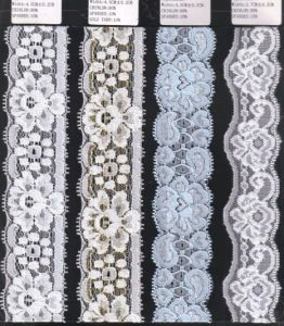 Different Width Stretch Raschel Lace Trim (with oeko-tex certification W70015) pictures & photos