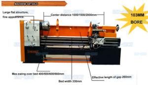 Horizontal Big Bore Lathe Machine (CH6240/6250/6260D) pictures & photos