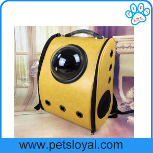 New Design Space Capsule Shaped Breathable Pet Cat Carrier Backpack pictures & photos