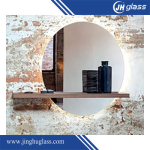Modern Style Round Frameless Silver Mirror with Good Price pictures & photos