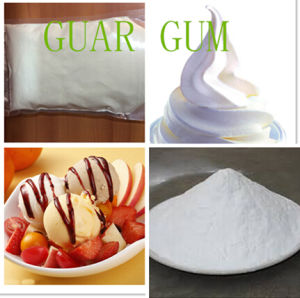 Hot Sale Thickner Stablizer White Powder Guar Gum pictures & photos