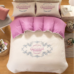 Simple Style 100% Cotton Plain Colour Bedding Sheet pictures & photos
