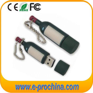 Custom Red Wine Soft PVC USB, Computer Accessories (EG586) pictures & photos