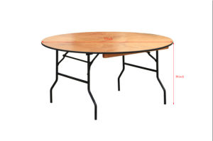 Outdoor Wood Foldable Event Table for Event and Hospitality pictures & photos