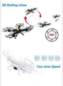 F183 RC 2.4GHz 6 Axis 4CH Remote Control Helicopter Explorers Quadcopter RC Drone pictures & photos
