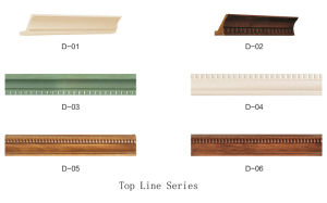2017 Artificial Marble Stone Plastic PVC Skirting Line (DX-001) pictures & photos