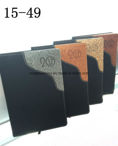 Professional Custom Leather Diary Notebook pictures & photos