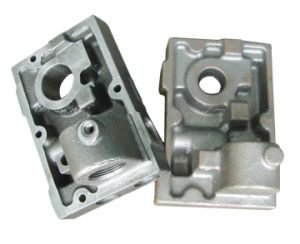 Custom Ductile Iron Casting with Pump Parts pictures & photos