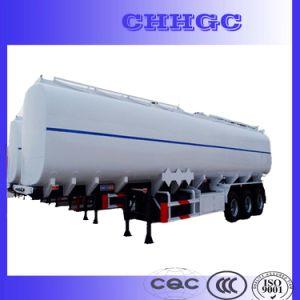Hot Sale 3 Axles 45 Cbm Fuel Tank Trailer pictures & photos