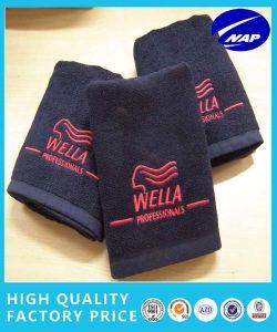 100% Cotton Anti-Bleach Hair Salon Towel, Jacquard Towel