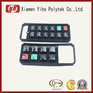 Silicone Keypad/Rubber Keypads/Rubber Bushing with ISO RoHS FDA Certificate pictures & photos