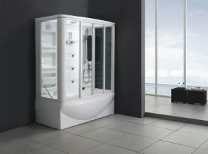 New Style Steam Shower Room with Massage Bathtub M-8239 pictures & photos