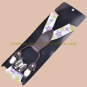 Kids Fashion Star Print Elastic Suspenders (BD1006-14) pictures & photos
