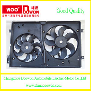 for Volkswagen Bora 1j0121207lb41 Auto Parts Radiator and Condenser Cooling Fan pictures & photos