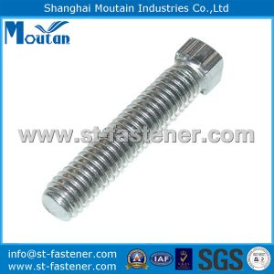 Square Head Bolts with Zinc Plated