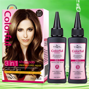 4.0 Hair Color Shampoo Medium Brown pictures & photos