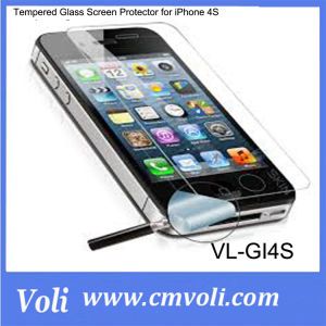 Tempered Glass Screen Protector for iPhone 4S pictures & photos