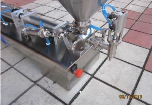 Semi-Automatic Pneumatic Paste Filling Machine with Ce pictures & photos