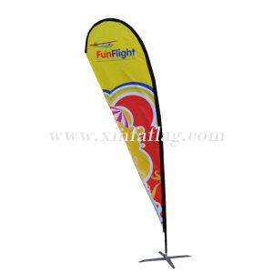 Customized Design Beach Teardrop Flag Banners pictures & photos