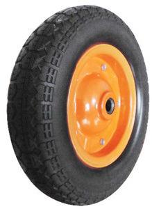 PU Wheels for Wheel Barrow Hand Trolley Tool Cart PU1307