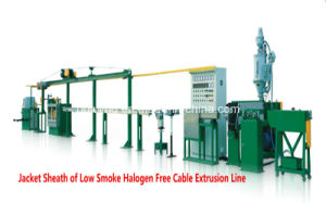 Low Smoke Halogen Free Extrusion Line Cable Extrusion Machine pictures & photos