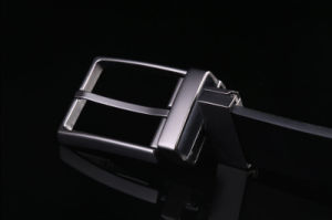 Rotate Pin Buckle Leather Mens Belts Luxury for Men pictures & photos