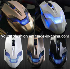 New Arrival Optical LED Gaming Mouse Adjustable Dpi 3200dpi 6 Buttons for PC Laptop FC-1450