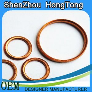 Copper Coated Gasket for High Temperature pictures & photos