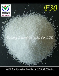 White Artificial Corundum for Abrasive pictures & photos