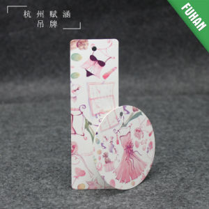 Fashion Colorful Coated Paper Clothing Hang Tag pictures & photos