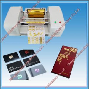 Hot Foil Stamping Machine From China Supplier pictures & photos