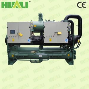Modular Water Cooled Chiller with Hot Danfoss Compressor (water To Water Chiller) pictures & photos