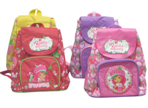 70d Polyester Children Carton School Bags