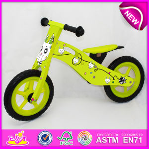 2014 New Wooden Bicycle Toy for Kids, Cute Wooden Bike Toy for Children, Latest Design Wooden Toy Bicycle for Baby Factory W16c078 pictures & photos